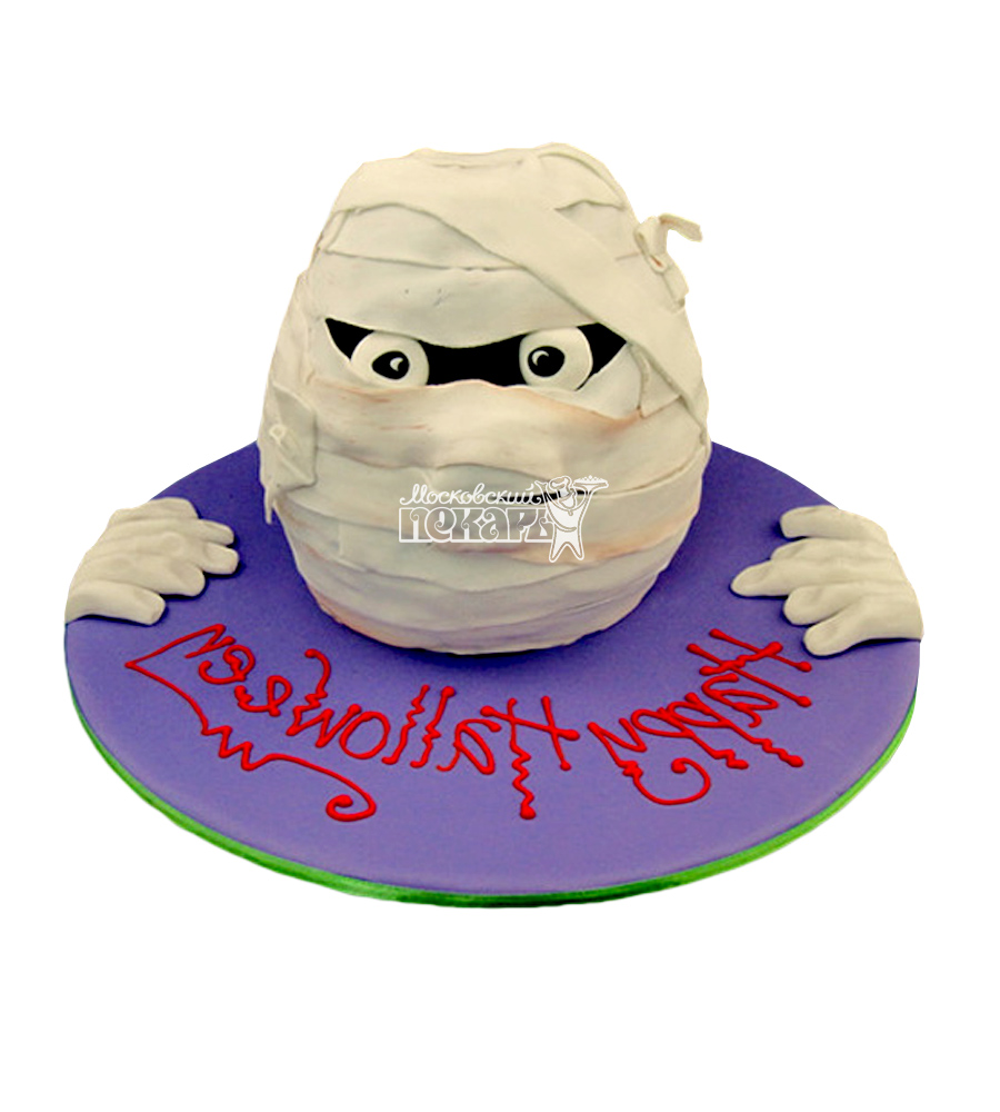 №2859 3D Торт на Хэллоуин