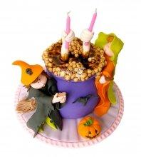 №2880 3D Торт на Хэллоуин