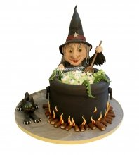 №2884 3D Торт на Хэллоуин