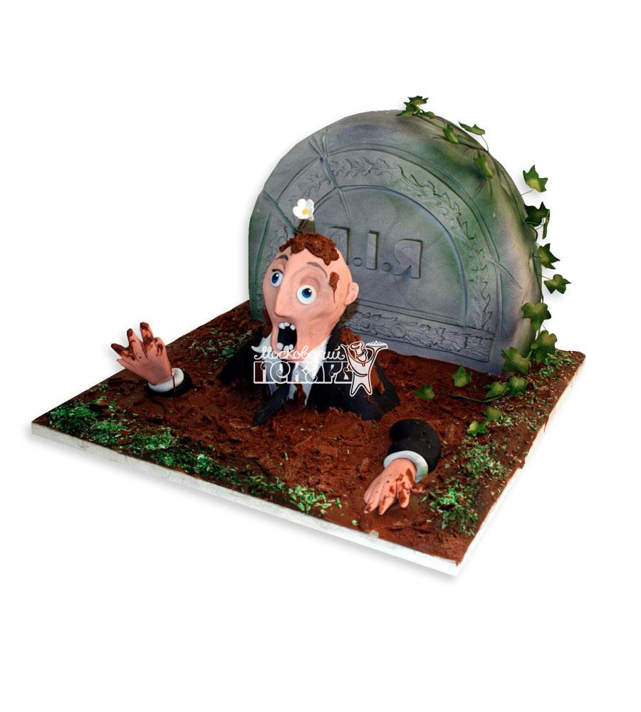 №2886 3D Торт на хэллоуин