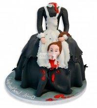 №2890 3D Торт на хэллоуин