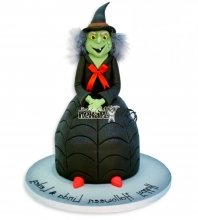 №2893 3D Торт на хэллоуин