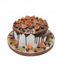 №2900 Торт с фруктами и ягодами