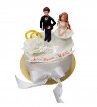 №2902 Небольшой свадебный торт