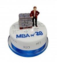 """№2908 Корпоративный торт для """"MBA"""""""