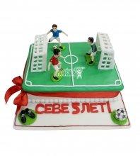 №2924 Торт футбольное поле