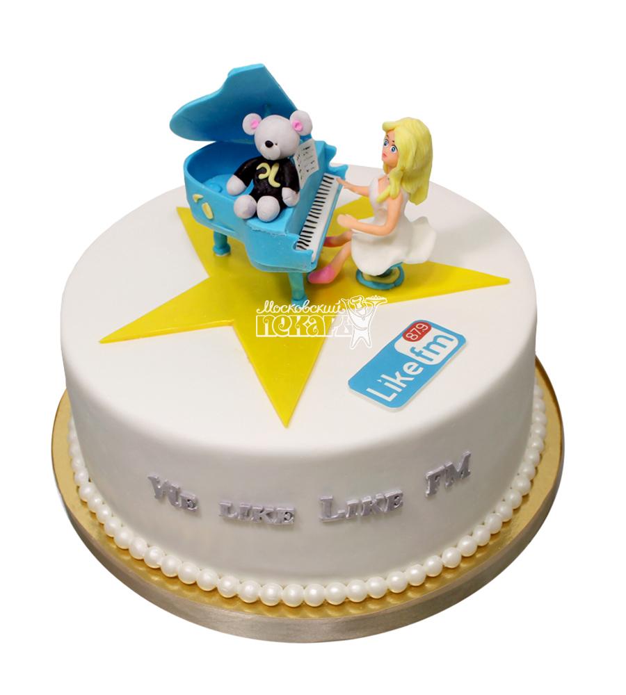 №2935 Корпоративный торт для Like FM