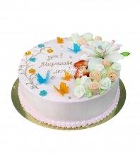 №2941 Торт с бабочками