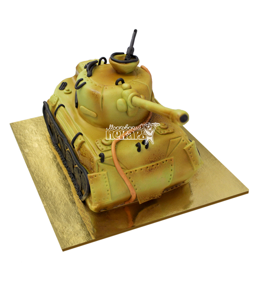 №2946 3D Торт Танк