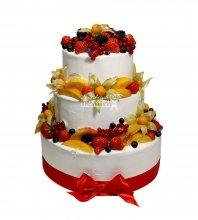 №2958 Торт с фруктами и ягодами