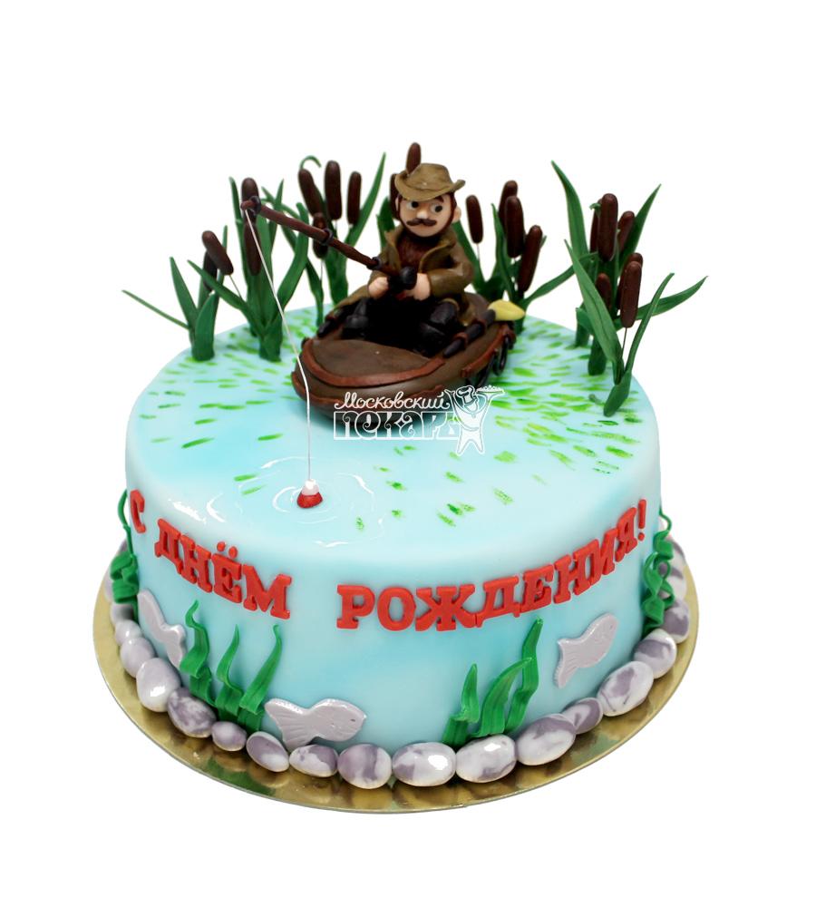 №2969 Торт рыбаку