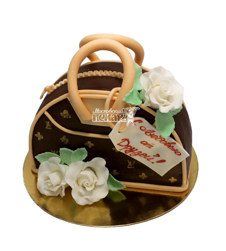 №2989 3D Торт женская сумка