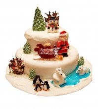 №2995 Торт на Новый Год