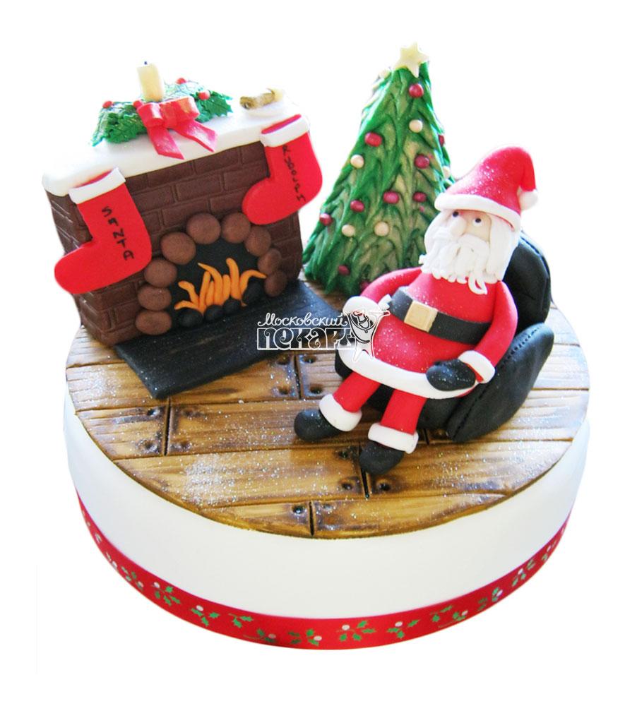 №3002 Торт на Новый Год