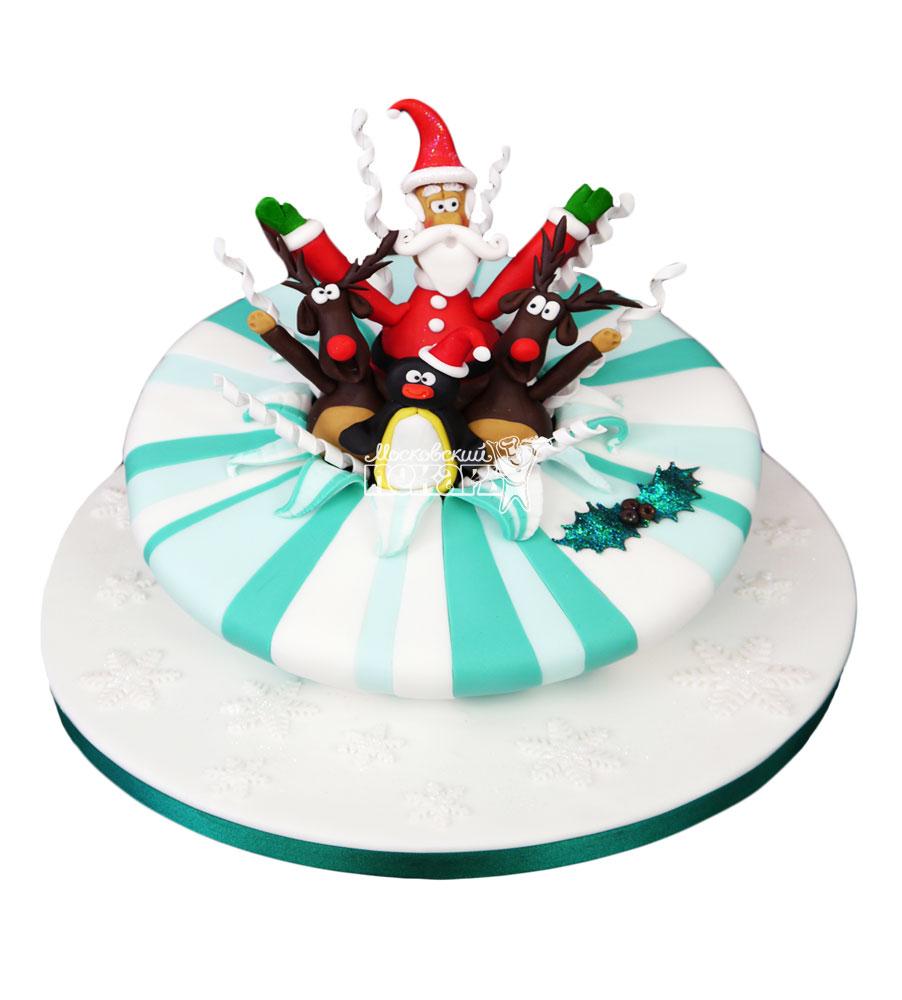 №3006 Торт на Новый Год