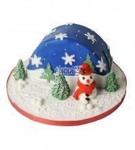 №3007 3D Торт на Новый Год