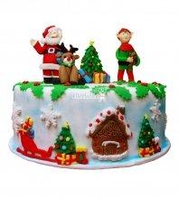 №3008 Торт на Новый Год