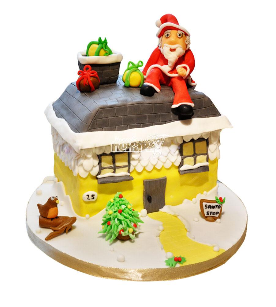 №3009 Торт на Новый Год