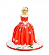 №3022 3D Торт на Новый Год