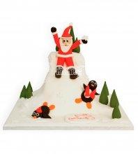 №3024 3D Торт на Новый Год