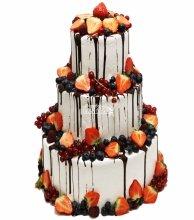 №3028 Торт с фруктами и ягодами