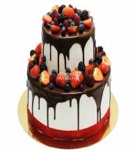 №3031 Торт с фруктами и ягодами