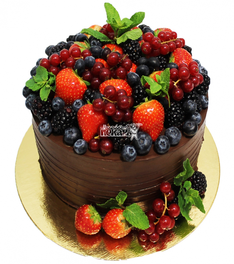 №3049 Торт с фруктами и ягодами