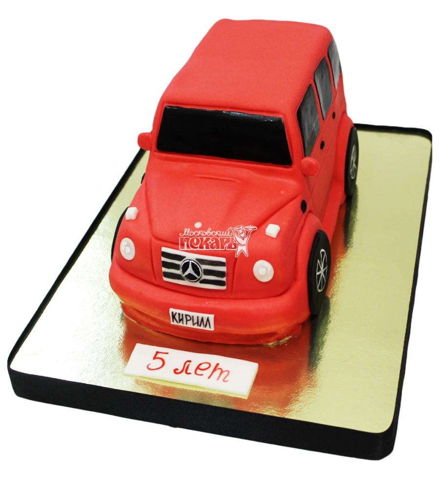 №3061 3D Торт Гелендваген
