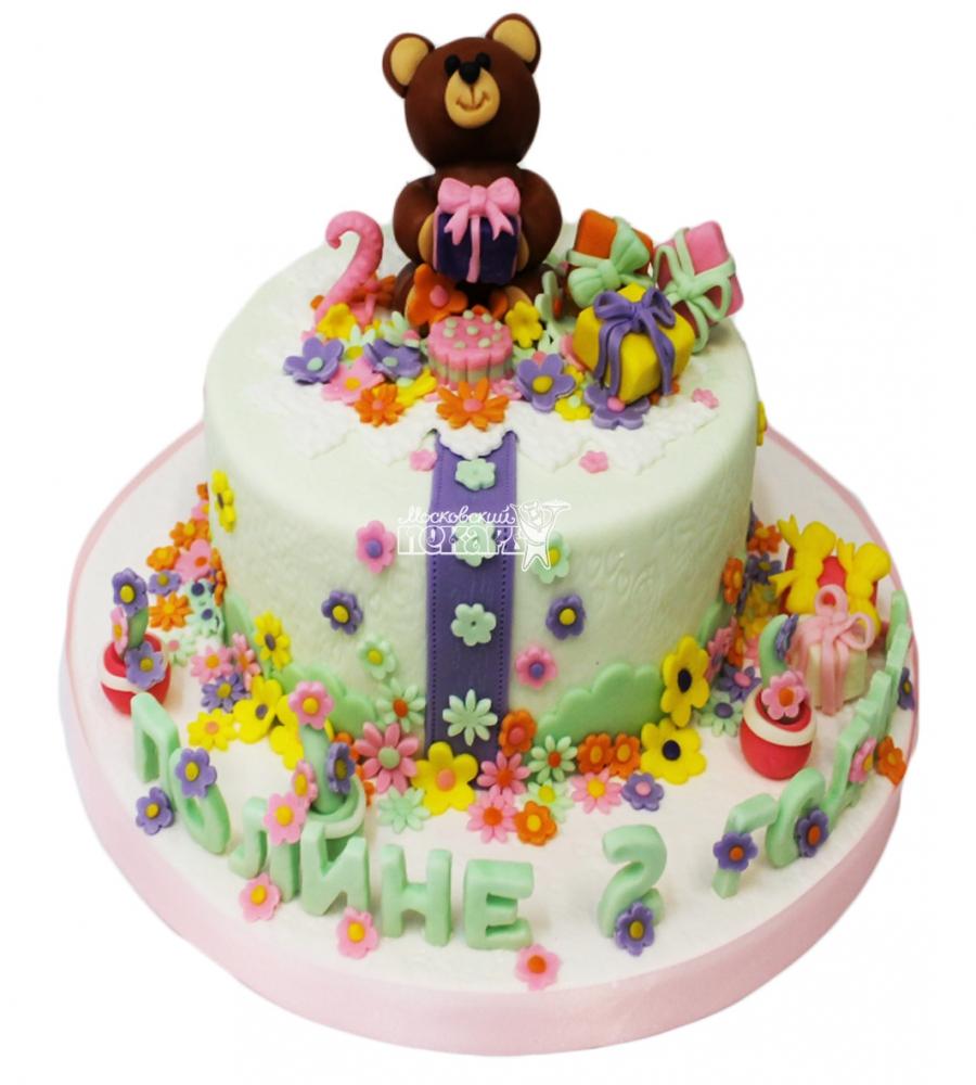 №3074 Торт с мишкой