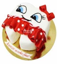 №3076 Торт на 1 зубик