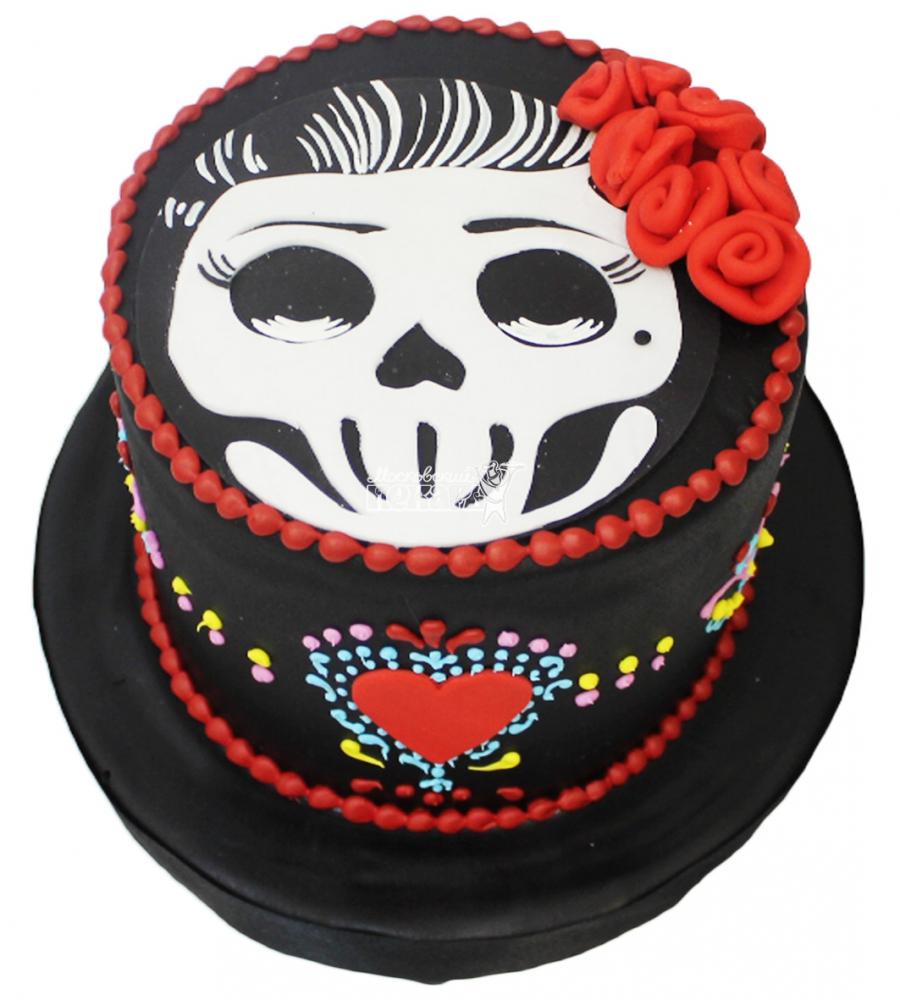№3089 Торт с черепом