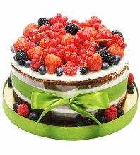 №3093 Торт с фруктами и ягодами