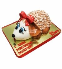№3095 3D Торт Ежик