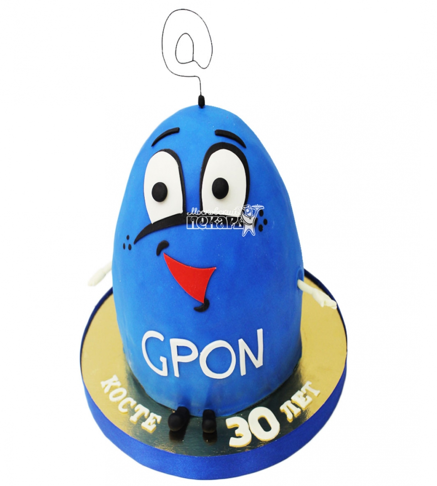 №3113 3D Торт GPON