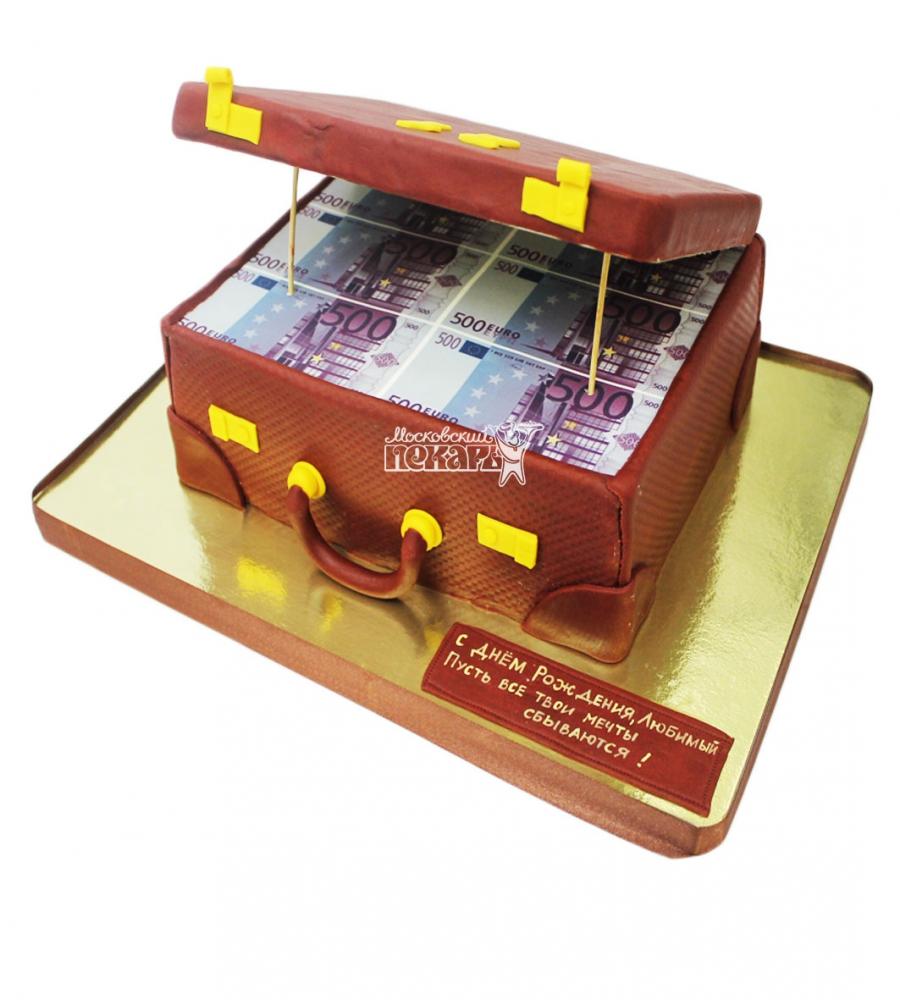 №3115 Торт чемодан денег