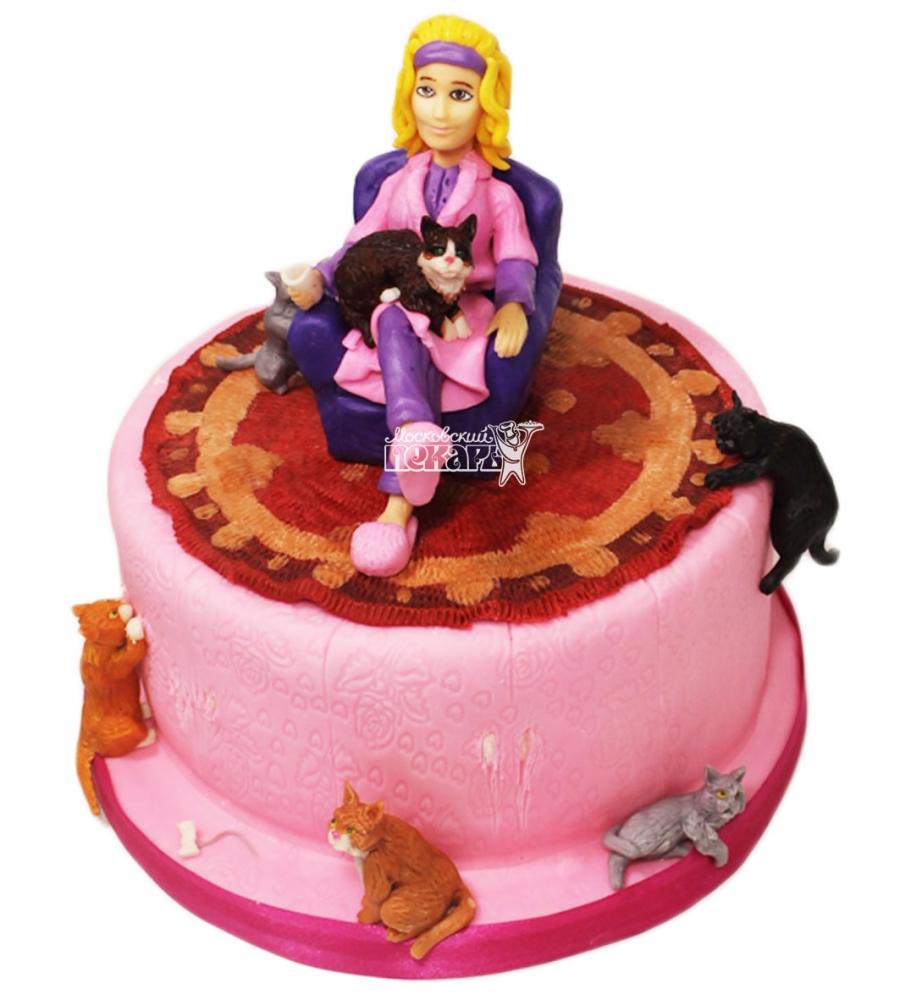 №3127 Торт Кошки