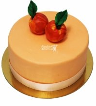 №3131 Торт с персиками