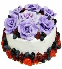№3304 Праздничный торт с цветами