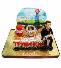 №3403 Корпоративный торт для ЛУКОЙЛ