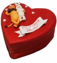 №3331 Торт сердце
