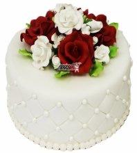№3336 Небольшой свадебный торт