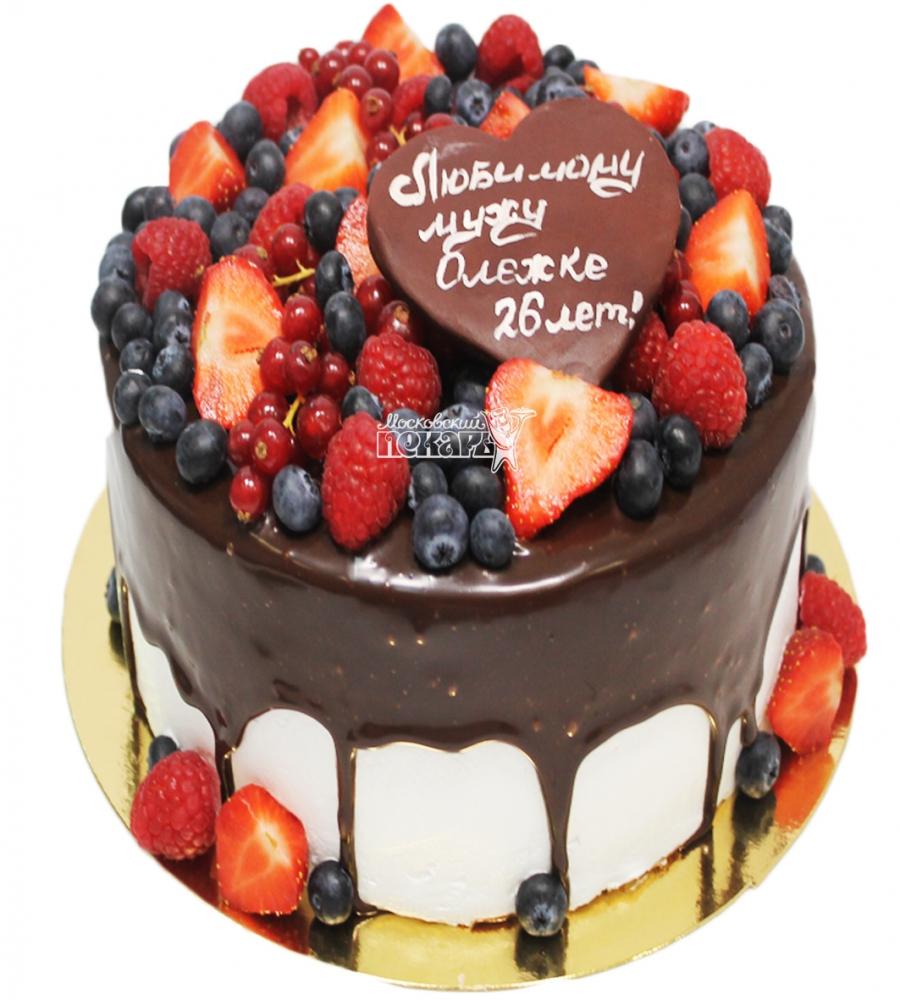 №3338 Торт с ягодами