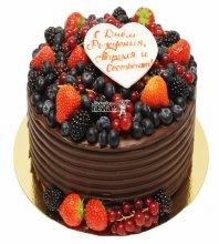 №3339 Торт с ягодами