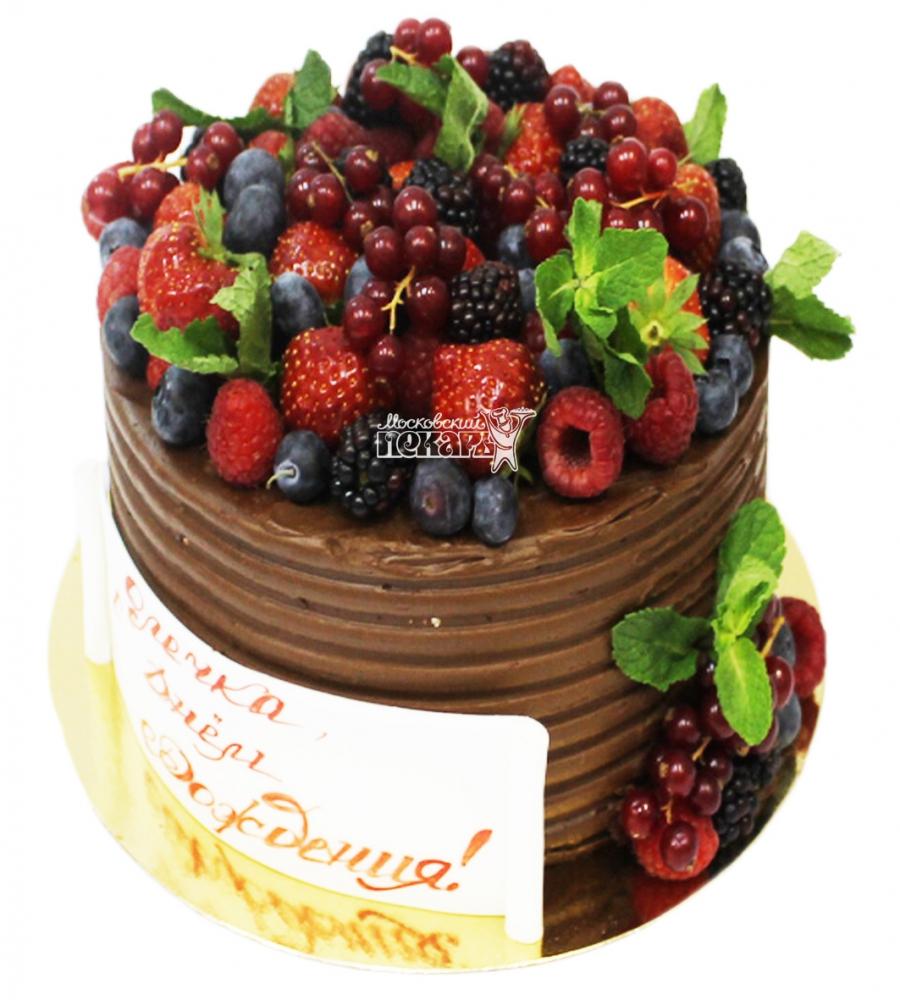 №3345 Торт с ягодами