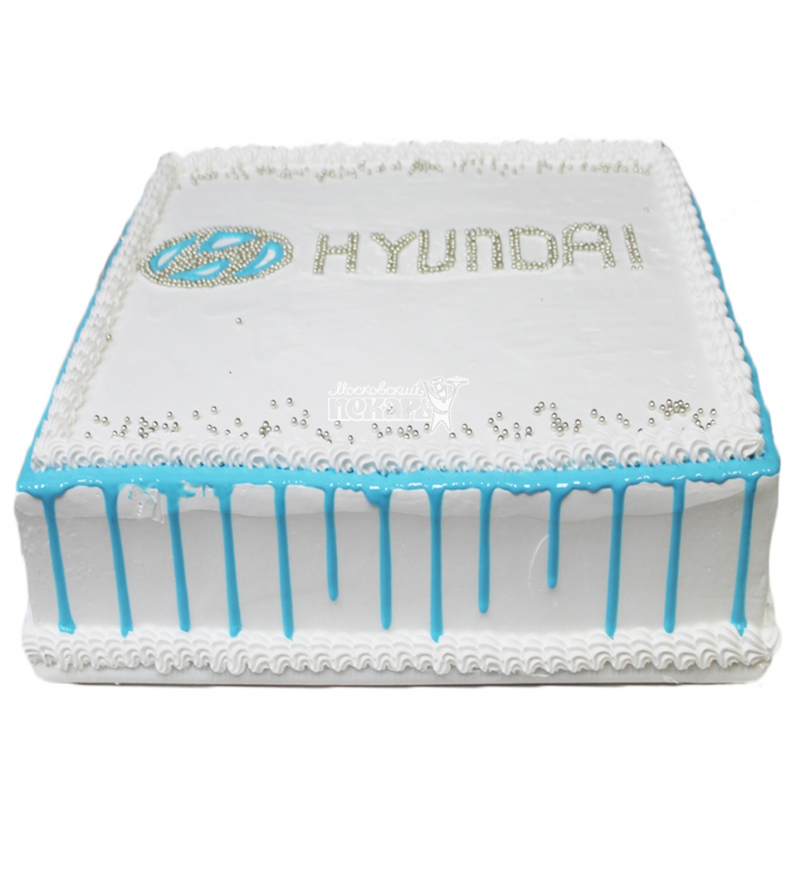№3352 Корпоративный торт для HYUNDAI