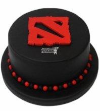 №3363 Торт с логотипом