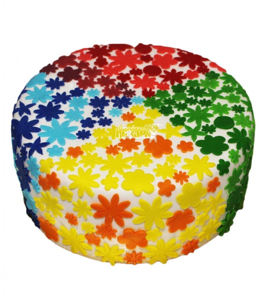 №3376 Торт с цветами