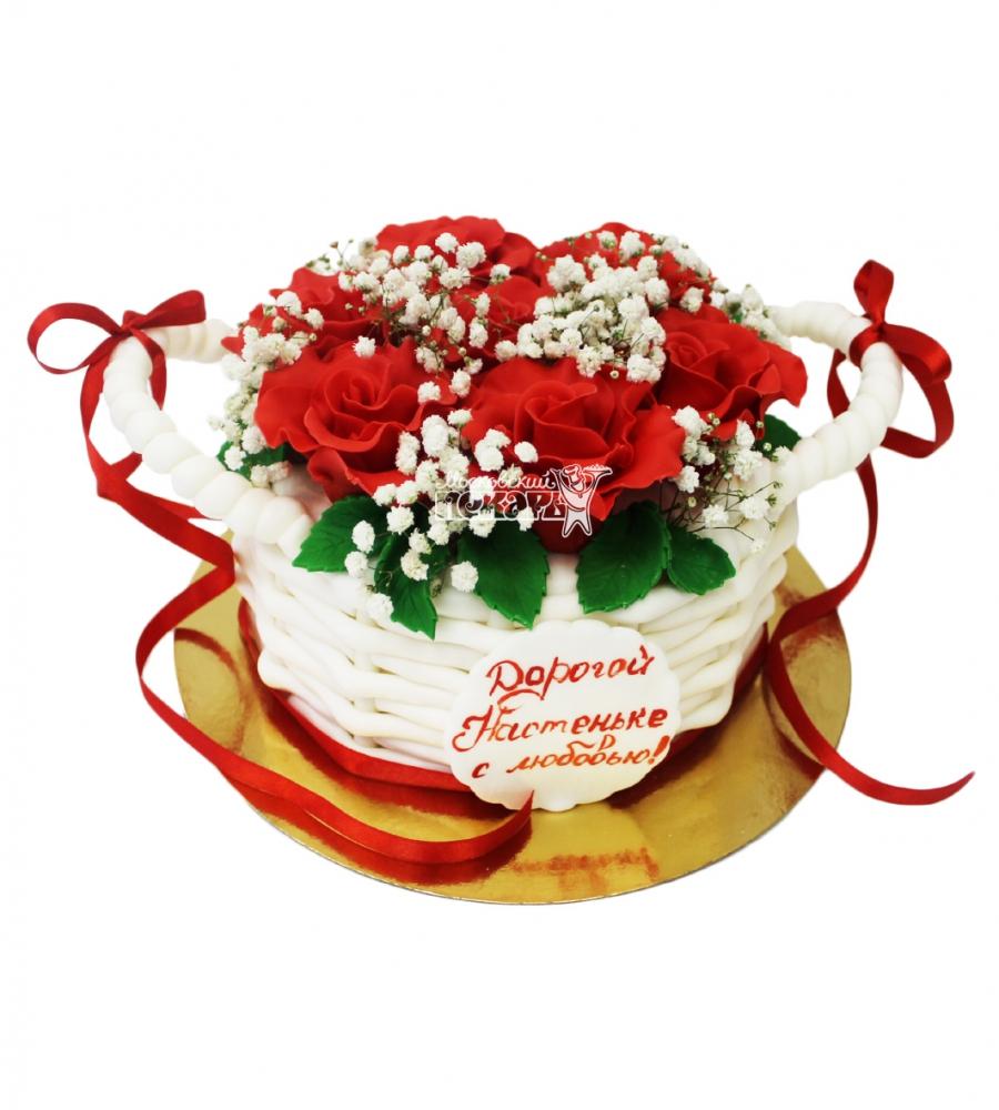 №3383 Торт Цветы