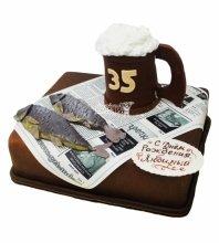 №3391 Торт Рыбка и Кружка