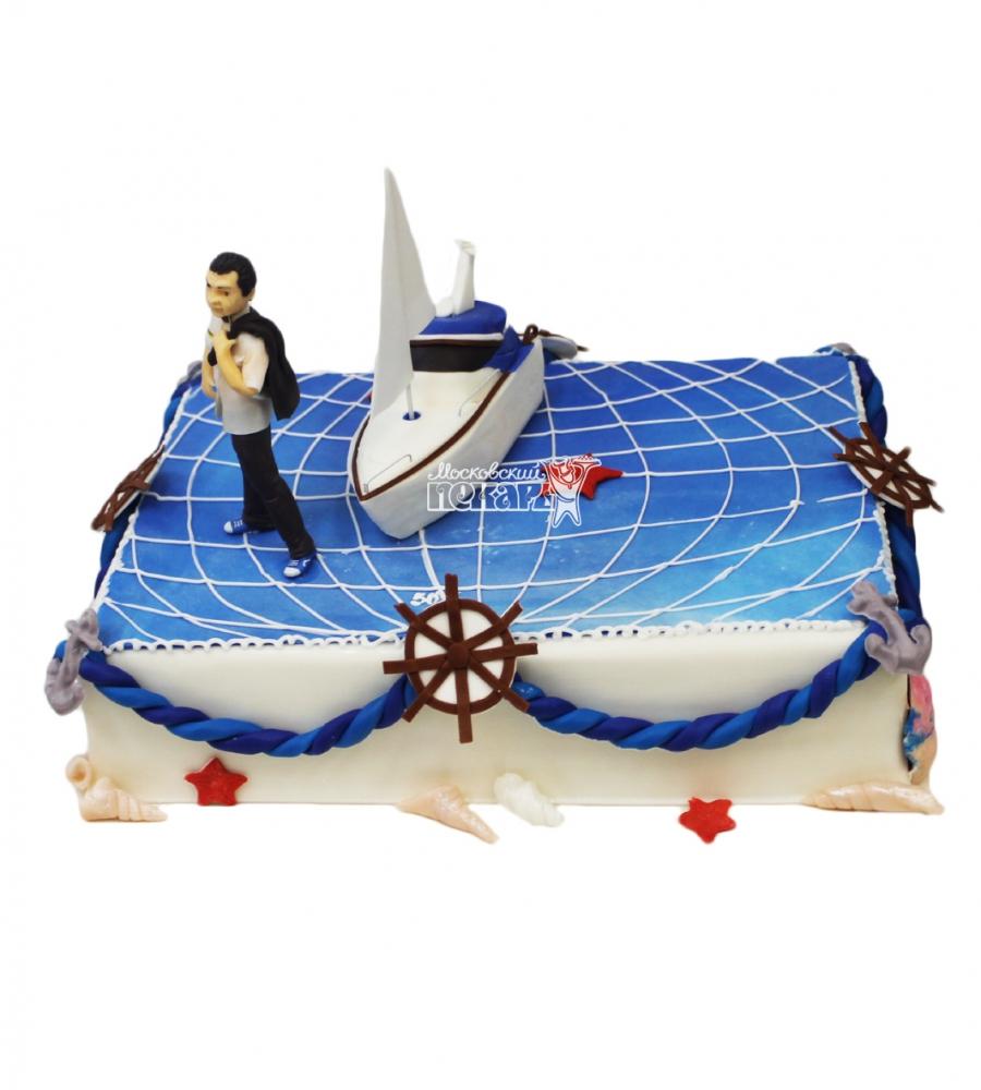 №3394 Торт яхта